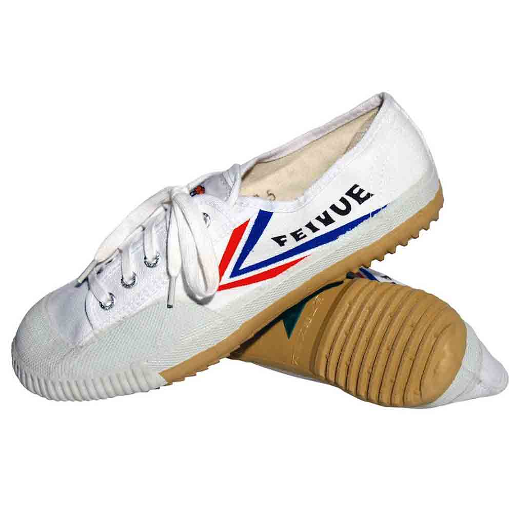 FEIYUE MARTIAL ARTS SHOES WHITE on sale