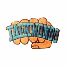 FIST TAE KWON DO PATCH