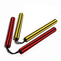 STRIPED FOAM PADDED NUNCHAKU