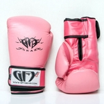 GFY GEAR PINK LEATHER BOXING/MUAY THAI GLOVE - image 1