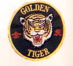 GOLDEN TIGER'S PATCH