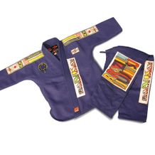 GTMA BRAZILIAN JIU JITSU UNIFORM WITH PATCHES