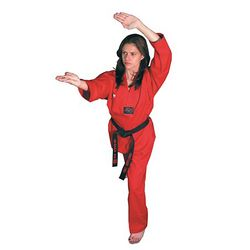 GTMA CHALLENGER RED TKD UNIFORM