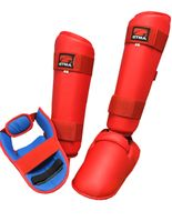 GTMA KARATE WKF APPROVED SHIN AND INSTEP PROTECTORS