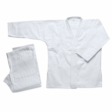 WHITE SINGLE JIU JITSU GI
