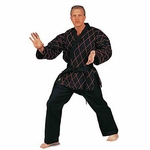 HAPKIDO UNIFORM BLACK WITH RED STITCHING - image 1