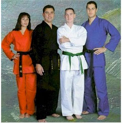 HEAVY WEIGHT KARATE UNIFORM 12oz