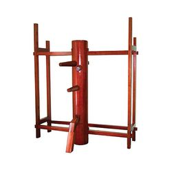 TIGER CLAW TRADITIONAL WING CHUN WOODEN DUMMY WITH STAND