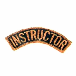 INSTRUCTOR PATCH ARCHED