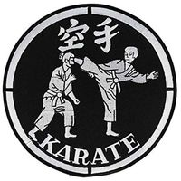 JACKET PATCH KARATE PATCH