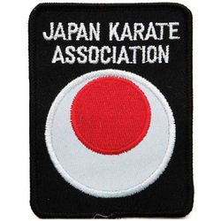 JAPAN KARATE ASSOCIATION PATCH