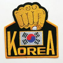 KOREA FIST PATCH