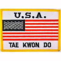 USA + TAE KWON DO PATCH
