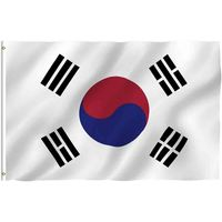 KOREAN FLAG 3' x 5'