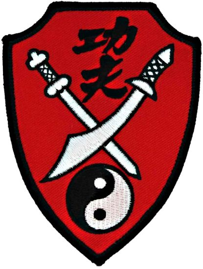 KUNG FU SWORD RED PATCH