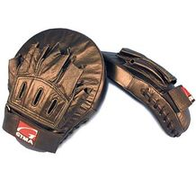LEATHER CURVED FOCUS MITT