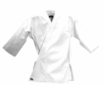 MACHO 7oz STUDENT JACKET WHITE