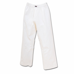 MACHO 7OZ STUDENT PANTS WHITE