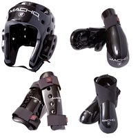MACHO DYNA 7 PIECE SPARRING GEAR SET WITH SHIN.