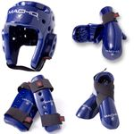 MACHO DYNA 7 PIECE SPARRING GEAR SET WITH SHIN. - image 1