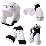 MACHO DYNA 7 PIECE SPARRING GEAR SET WITH SHIN. - image 2