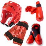 MACHO DYNA 7 PIECE SPARRING GEAR SET WITH SHIN. - image 3