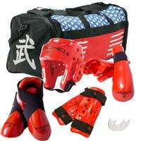 MACHO DYNA DELUXE SPARRING GEAR SET WITH BAG
