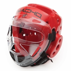 MACHO DYNA HEAD GEAR AND FACE SHIELD COMBO