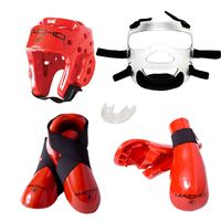 MACHO DYNA SPARRING GEAR SET WITH FACE SHIELD
