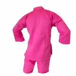 MACHO STUDENT PINK KARATE UNIFORM - image 3