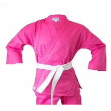MACHO STUDENT PINK KARATE UNIFORM