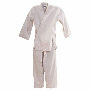 MACHO TRADITIONAL 7 oz. STUDENT UNIFORM (WHITE)
