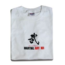 MARTIAL ART 101 PRINTED T-SHIRTS