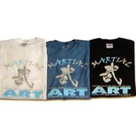 MARTIAL ART PRINTED T-SHIRTS