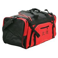 MARTIAL ARTS BAG WITH MESH RED