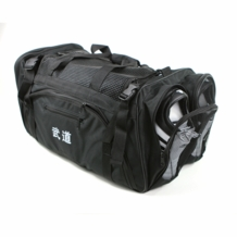 "MARTIAL ARTS BAG WITH MESH ""BLACK"""