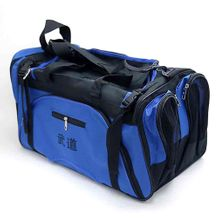 MARTIAL ARTS BAG WITH MESH BLUE