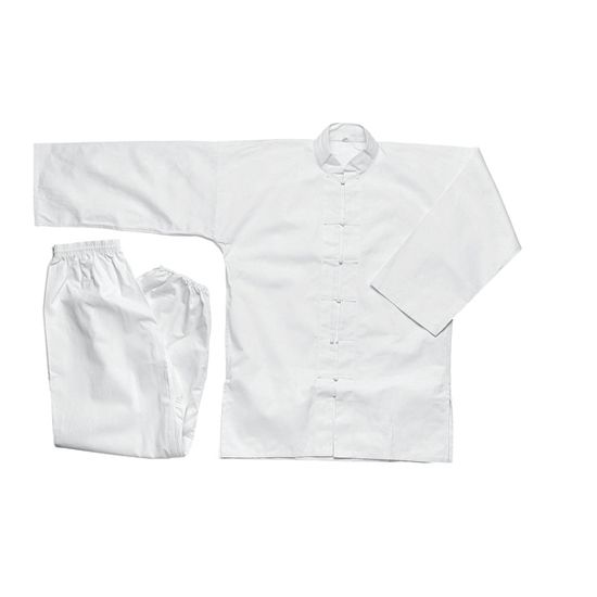 MASTERLINE WHITE KUNG FU UNIFORM
