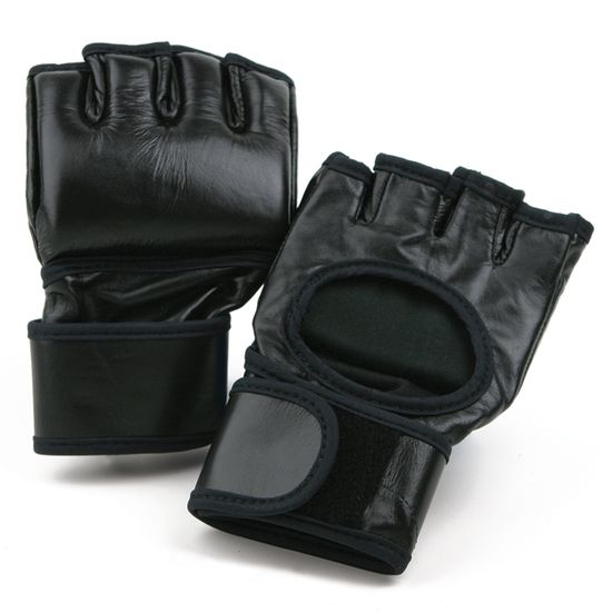 MMA LEATHER FIGHT GLOVE