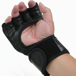 MMA LEATHER FIGHT GLOVE - image 1