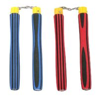 NEW LIGHT FOAM NUNCHAKU W/  STRIPE