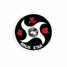NINJA STAR PATCH