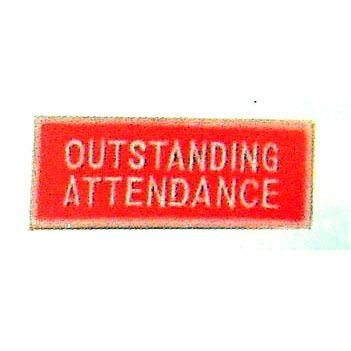 OUTSTANDING ATTENDANCE PATCH