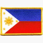 PHILIPPINES FLAG PATCH