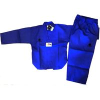 PINE TREE DELUXE BLUE WTF RIBBED TKD UNIFORM