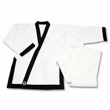 PROFORCE 8 OZ BLACK TRIMMED TSD UNIFORM