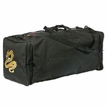 PROFORCE DELUXE GRANDE GEAR BAG BLACK GOLDEN DRAGON