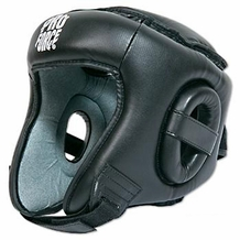 PROFORCE OPEN FACE HEAD GEAR BLACK