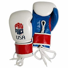 "PROFORCE ""PRO"" BOXING GLOVES"