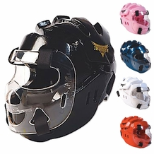 PROFORCE THUNDER FULL HEAD GUARD WITH SHIELD